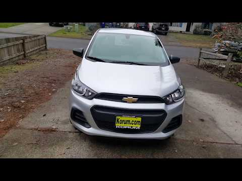 2017 Chevy Spark Review
