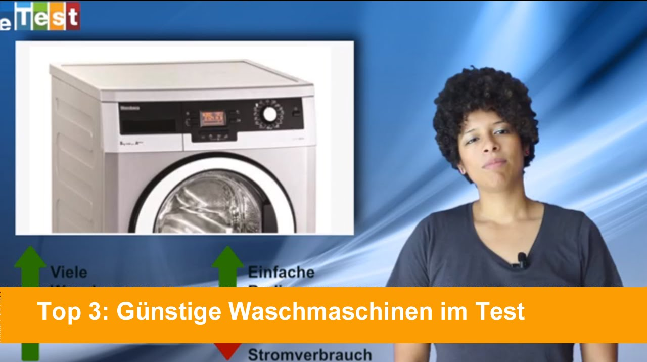 top 3 g nstige waschmaschinen im test youtube. Black Bedroom Furniture Sets. Home Design Ideas