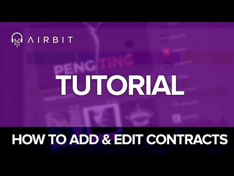 Airbit Tutorial: How To Add & Edit Lease Contracts