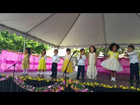 San Marino Montessori spring concert 2016