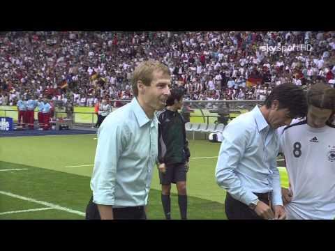 Оливер Кан и Йенс Леманн перед пенальти (ЧМ-2006)