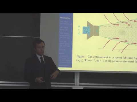 Dynamics of a full-cone atomizing liquid jet, PhD Defense, F