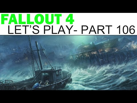 Fallout 4 Let's Play - Part 106 - Thankless Work (Far Harbor DLC)