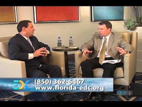 EDC August TV Show with guest, Gray Swoope, Florida Secretary of Commerce