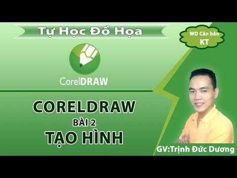 Hướng dẫn sử dụng CorelDraw cho người mới bắt đầu   Bài2