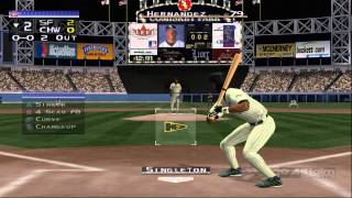 Dolphin Emulator 4.0.2 | All-Star Baseball 2002 [1080p HD] | Nintendo GameCube