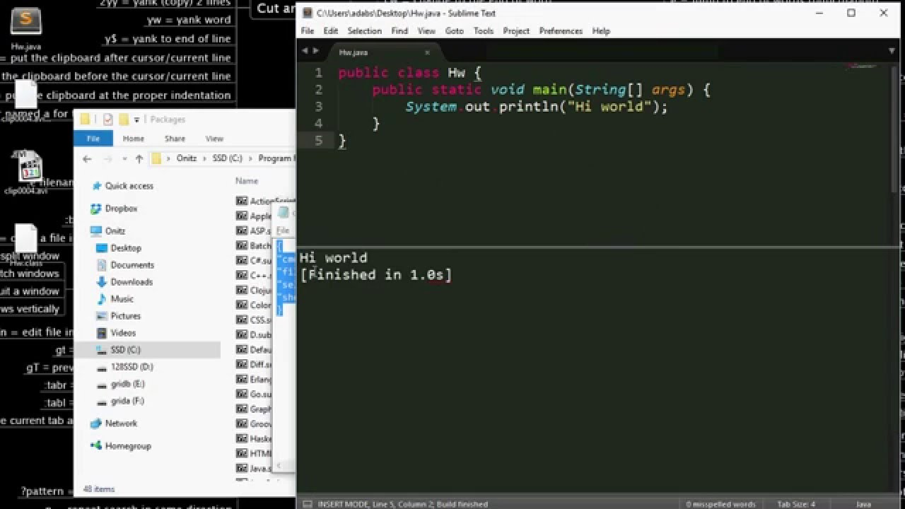 Compile And Run Java In Sublime Text 3