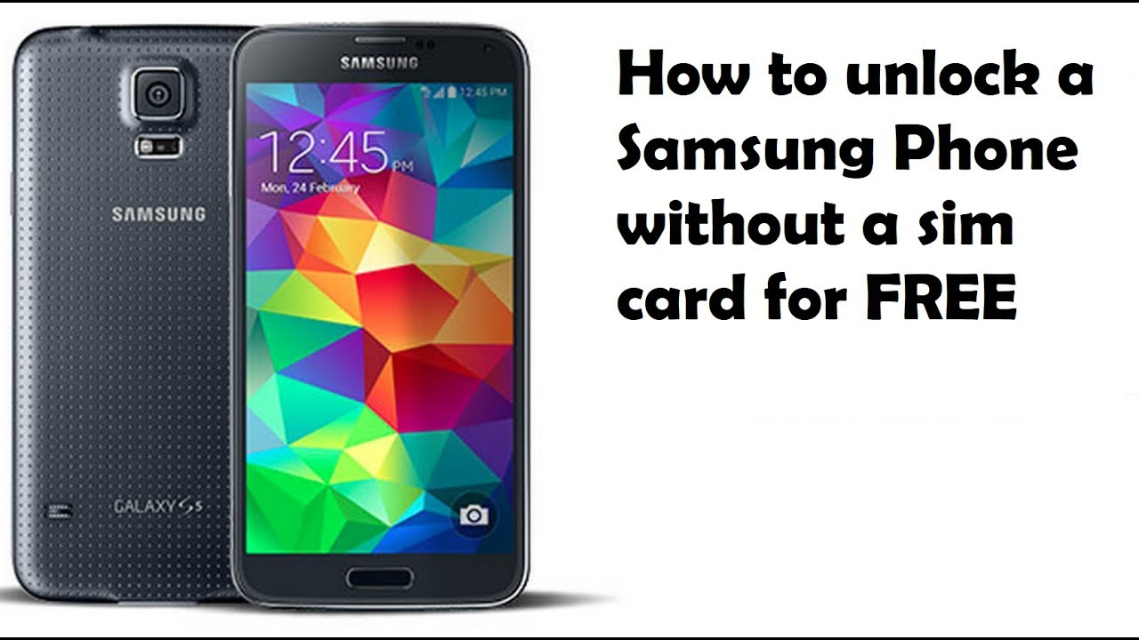 How To Unlock A Samsung Phone Without A Sim Card - How To Unlock Network  Lock Pin On Samsung