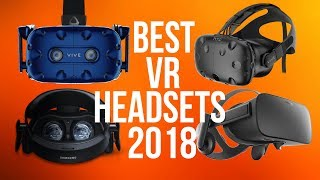Best VR Headsets 2018  | Top 5 Virtual Reality | PC, Xbox, PS4, Android & iOS | Gaming
