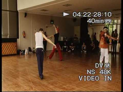 Universal Studios SIngapore's dance auditions