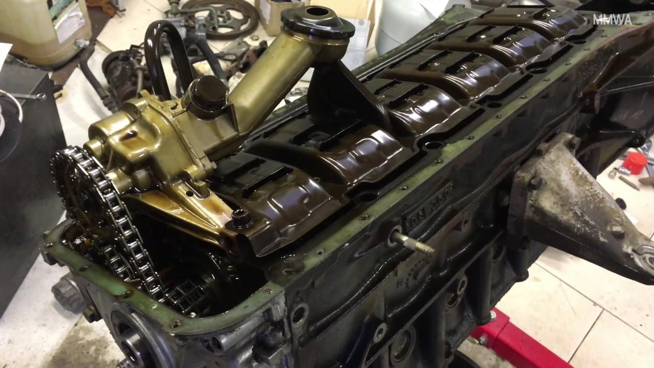 Mercedes M104 980 Crankshaft Removal & Inspection - 305,000KM