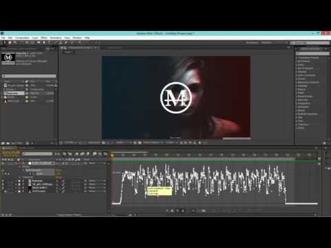 How to sync TEXT/LOGO to MUSIC | After Effects