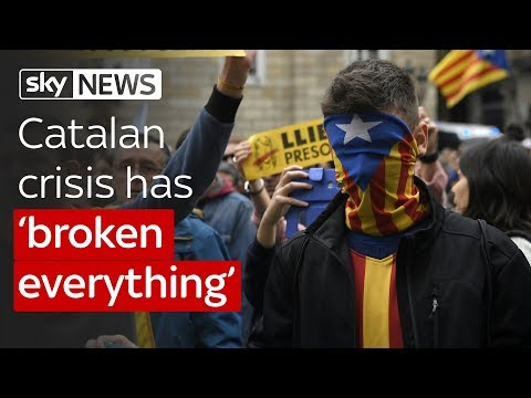 """Catalan crisis has """"ruined everything"""""""
