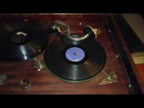 Vitrola Gramófono Original Rca Victor año 1930 excelente Pieza Funcional