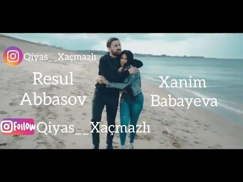 Resul Abbasov & Xanim Babayeva Ölerem Onsuz Klip  2018