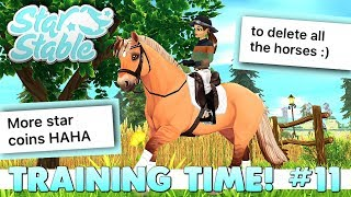 Star Stable Training Time 11   Reading YOUR Dream Updates 💭🐴