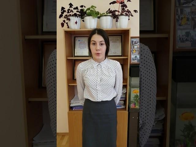 Изображение предпросмотра прочтения – АделяНазипова читает произведение «Она сидела наполу…» Ф.И.Тютчева