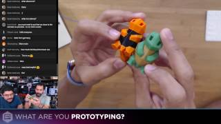3D Hangouts – Mosaic Palette First Look, MicroPython And PVA