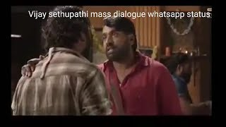 vijay sethupathi mass dialogue scene|Vikram vedha|Kakakapo video|tamil whatsapp status|makkal selvan