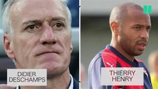 Demi-finale France-Belgique: Deschamps et Henry, deux trajectoires parallèles depuis 1998