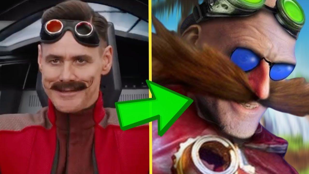 Sonic Movie Eggman Redesign Youtube
