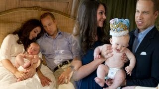 Royal Baby Photo Shoot from Alison Jackson