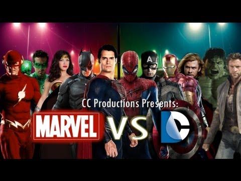 Marvel Versus DC Comics Theatrical Trailer: CC Productions [HD]