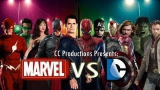 Marvel Versus DC Comics Trailer: CC Productions [HD]