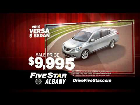 Nissan NOW Event At Five Star Nissan Of Albany!