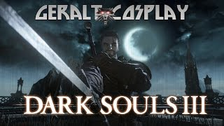Dark Souls 3 - Geralt of Rivia Cosplay