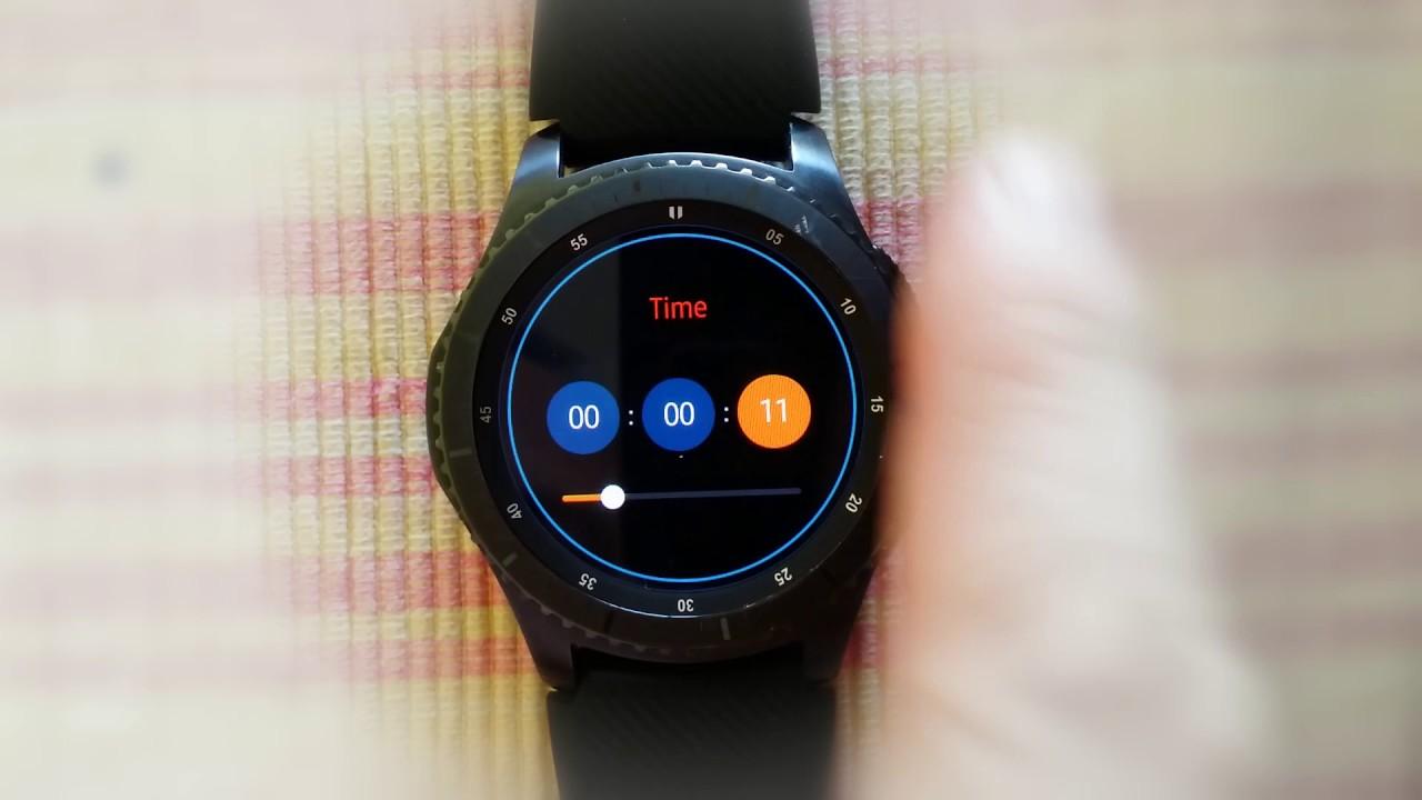 Gioshop hướng dẫn sử dụng Watchmaker cho Gear S2/S3/Sport ...