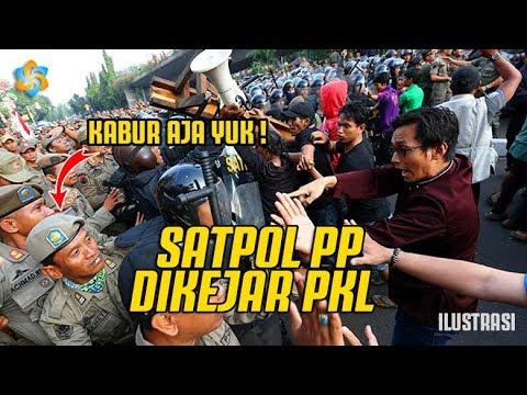 Satpol PP Dikejar PKL Tanah Abang ! Cuma Diera Anies , Warga Kangen AHOK ?