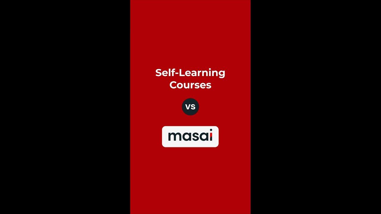 Self Learning vs Masai #Shorts #Masai