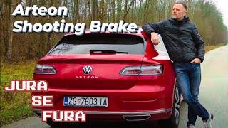Može li VW biti bolji od Audija? - VW Arteon Shooting Brake - Jura se fura