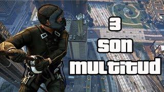 GTA 5 Mejores Misiones # 5 Tres son multitud