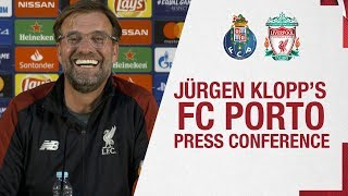 Klopp and Milner's Champions League press conference | FC Porto