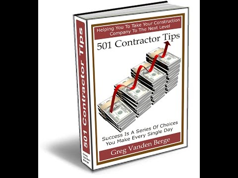 Home Office - Contractor Business Tip #162