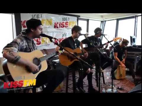 The best on!!5 Seconds of Summer - She's Kinda Hot [Acoustic] at 106.1 KISS FM in Seattle -