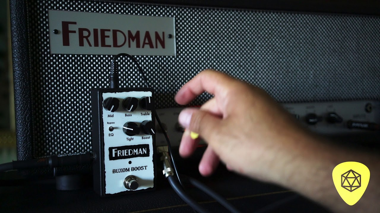 Friedman DS 40 Head vs Smallbox 50   boost pedals, etc | The