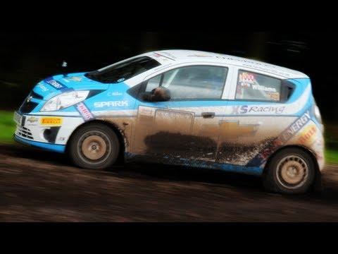 Chevrolet Spark Rally Car - YouTube