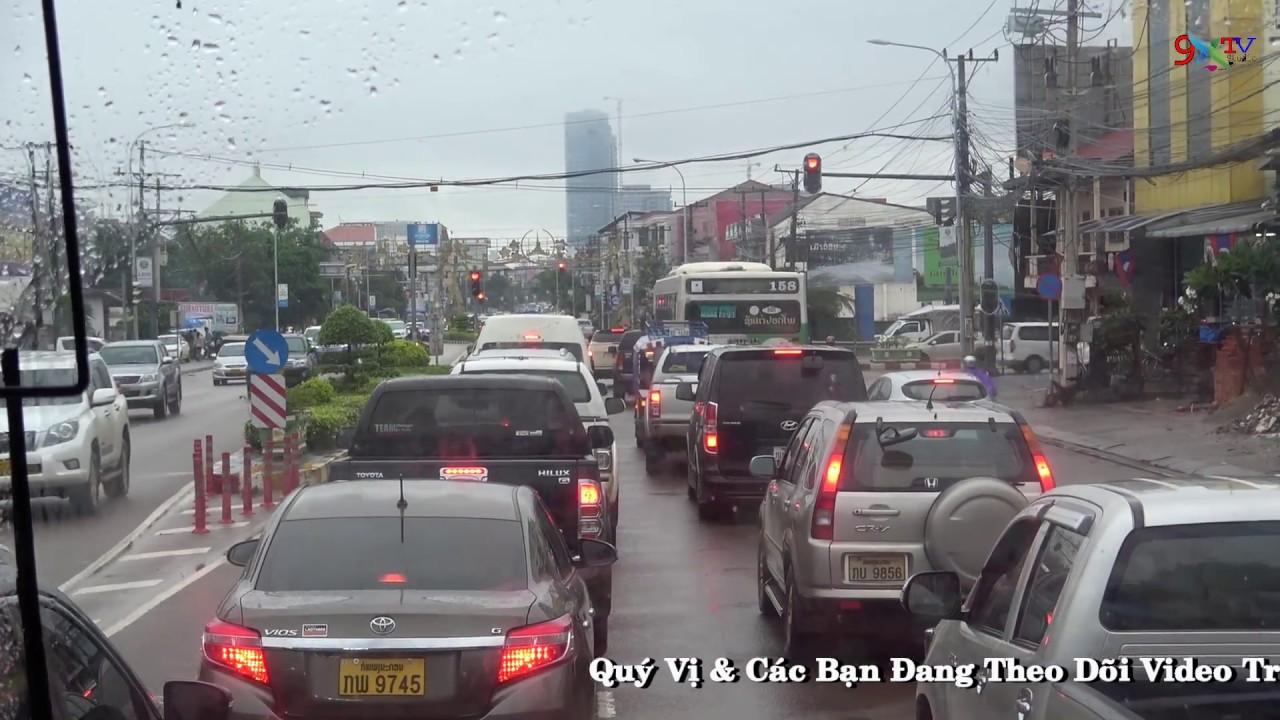 Đường Phố Thủ Đô Viêng Chăn – Du Lịch Lào