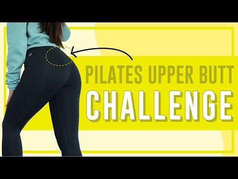 4 Minute Upper Butt Lifting Workout  POP Pilates Song Challenge