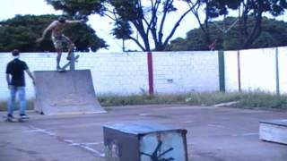 Skate Centenario do Sul Parte 4