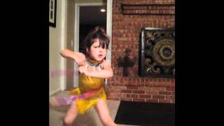 Hula-Hoop & Chicken Dance & blowing bubbles