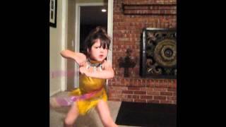 Hula-Hoop & Chicken Dance & blowing bubbles