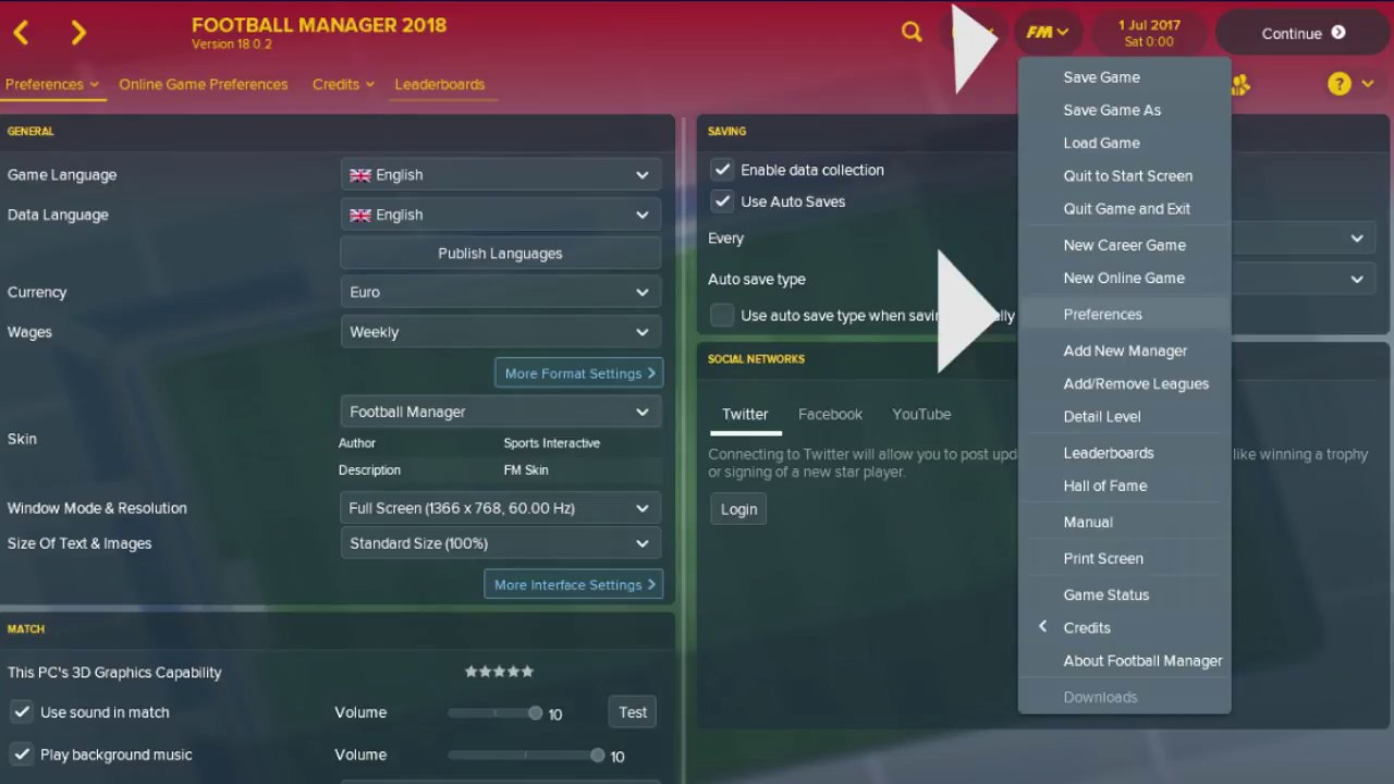 How To Change Size Of Text Images In Football Manager 2018