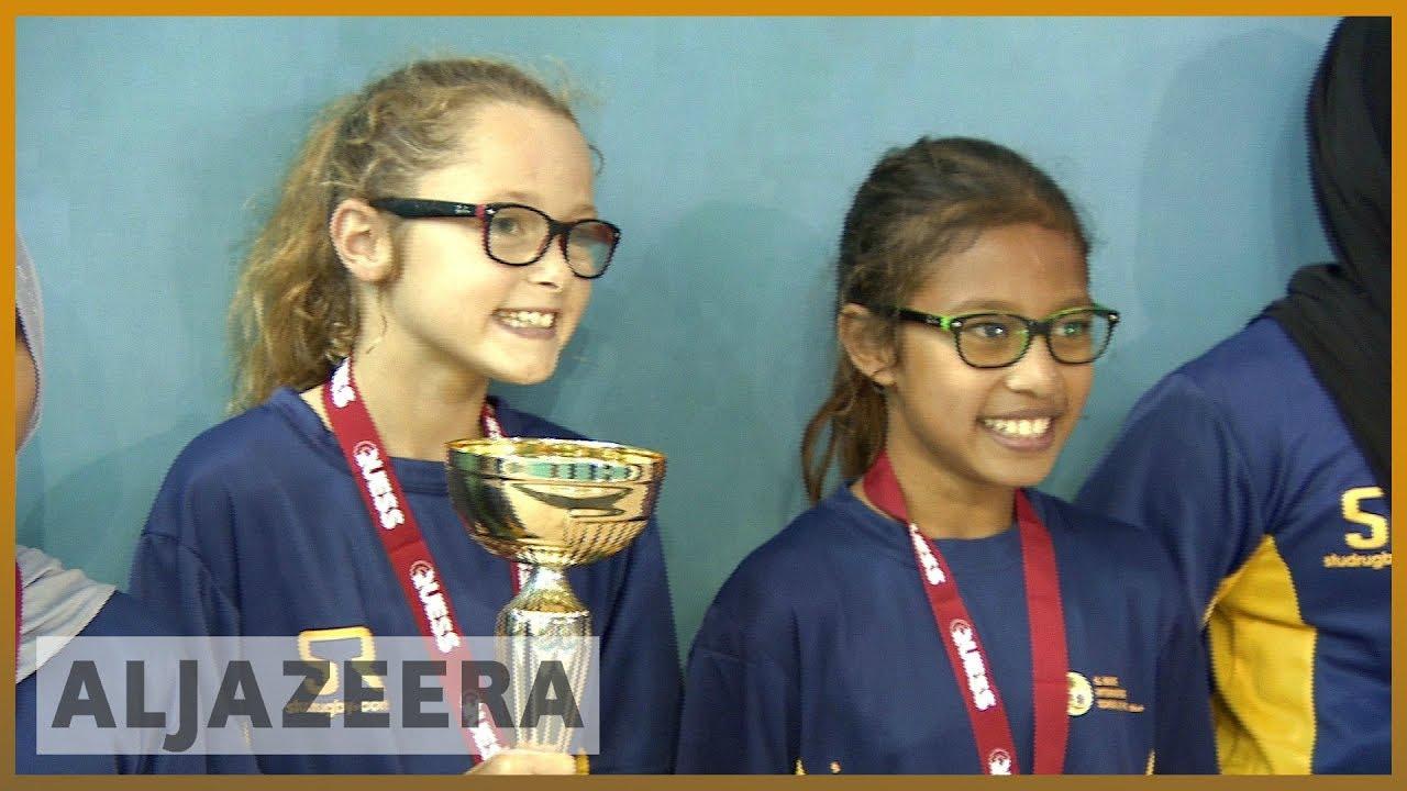 🇶🇦 GCC crisis: Kids in Qatar compete in new 'Qatar games'   Al Jazeera English