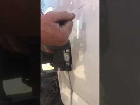 How To Remove Chevy Express GMC Savana Van Side Door Hinge Pins
