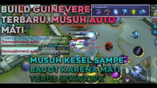 BUILD ITEM GUINEVERE TERBARU || TUTORIAL GUINEVERE MUSUH AUTO MATI