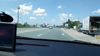 Výjezd ze Sofie směr přechod Kalotina Bulharsko autem
